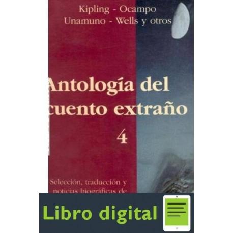 Antologia Del Cuento Extrano 4 Aa. Vv