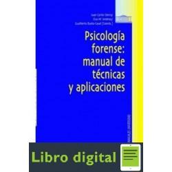 Psicologia Forense Manual De Tecnicas Y Ap Varios Autores