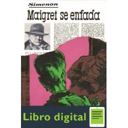 Maigret Se Enfada Georges Simenon