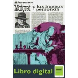 Maigret Y Las Buenas Personas Georges Simenon
