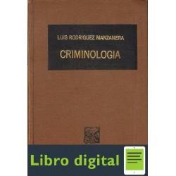 Criminologia Luis Rodriguez Manzanera