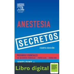 Anestesia Secretos James C. Duke 4 edicion