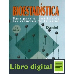 Bioestadistica Base Para El Analisis De Las Ciencias de la Salud 4 edicion