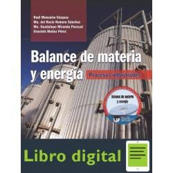 Balance De Materia Y Energia Procesos