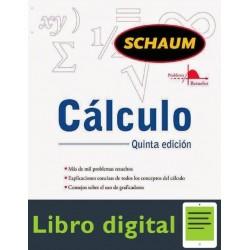 Calculo 5 edicion Frank Ayres Serie Schaum