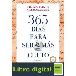 365 Dias Para Ser Mas Culto David Kidder