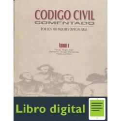 Codigo Civil Comentado. Tomo I. Titulo