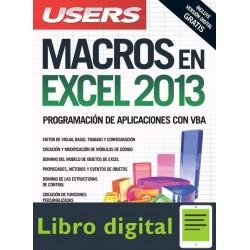 Macros En Excel 2013 Programacion De Aplic