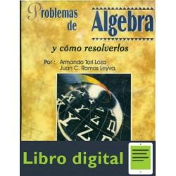Problemas De Algebra Y Como Resolverlos