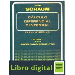 Calculo Diferencial E Integral Serie Schaum Frank Ayres