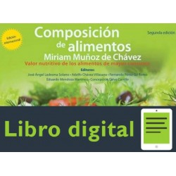 Composicion De Alimentos Miriam Muñoz De Chavez 2 edicion