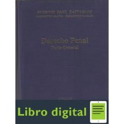 Derecho Penal. Parte General E. Raul Zaffaroni