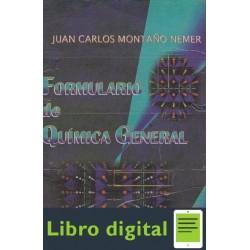 Formulario De Quimica General J. C. Montaño