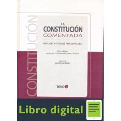 La Constitucion Comentada. Tomo Il