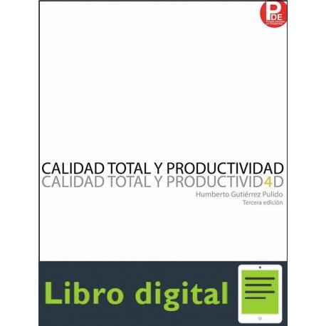 Calidad Total Y Productividad Humberto Gtz