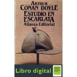 Estudio En Escarlata Arthur Conan Doyle