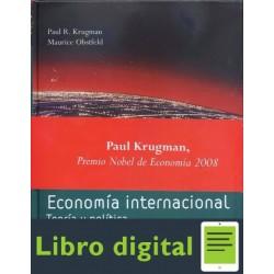 Economia Internacional. Teoria Y Politica