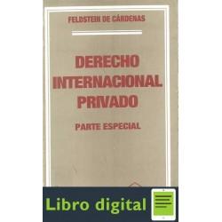 Derecho Internacional Privado. Parte Especial