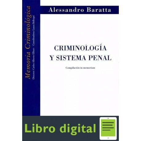 Criminologia Y Sistema Penal A. Baratta
