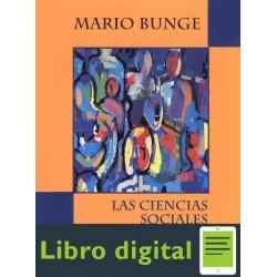 Las Ciencias Sociales En Discusion Mario Bunge