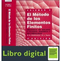 El Metodo De Los Elementos Finitos Vol. 2