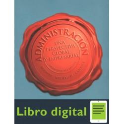 Administracion Una Perspectiva Global Y Empresarial 13 edicion Harold Koontz