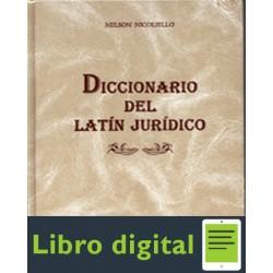 Diccionario Del Latin Juridico N. Nelson