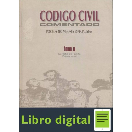 Codigo Civil Comentado. Tomo Il. Derecho De
