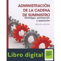 Administracion De La Cadena De Suministro Sunil Chopra 5 edicion