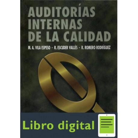 Auditorias Internas De La Calidad M. A. Vila