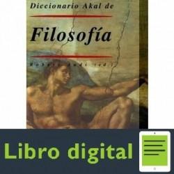 Diccionario Akal Filosofia Robert Audi