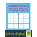 Algebra Lineal Para Estudiantes De Ingenieria
