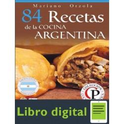 84 Recetas De La Cocina Argentina M. Orzola