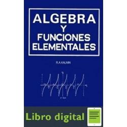 Algebra Y Funciones Elementales R. A. Kalnin