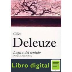 Logica Del Sentido Gilles Deleuze