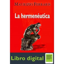 La Hermeneutica Maurizio Ferraris