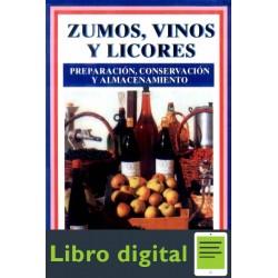 Zumos, Vinos Y Licores. Preparacion, Conser