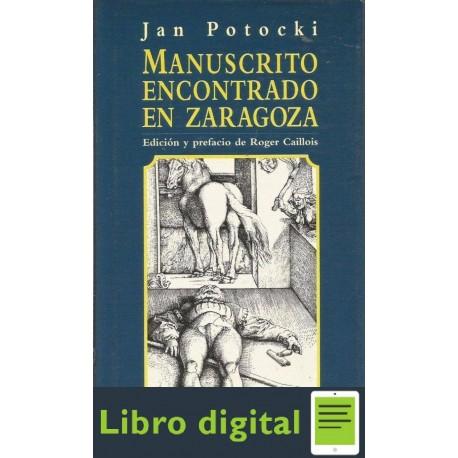 Manuscrito Encontrado En Zaragoza Jan Potocki