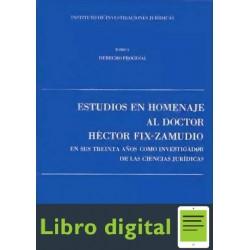 Estudios En Homenaje Al Doctor Hector Fix