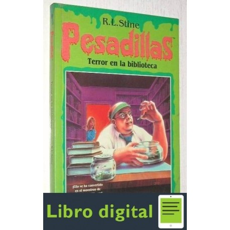 Pesadillas. Terror En La Biblioteca