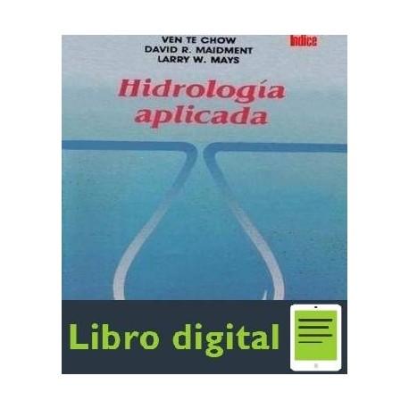 descargar libro ven te chow hidrologia pdf