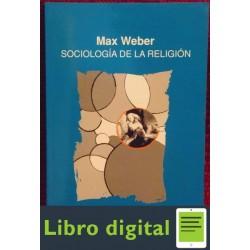 Sociologia De La Religion Max Weber