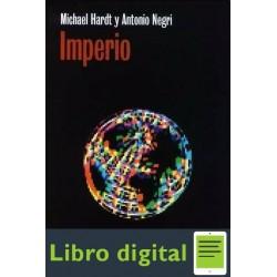 Imperio Michael Hardt Y Antonio Negri