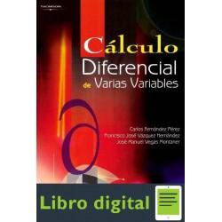 Calculo Diferencial De Varias Variables