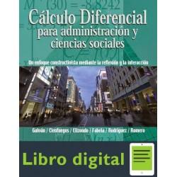 Calculo Diferencial Para Administracion Y