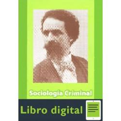 Sociologia Criminal. Tomo Il Enrico Ferri