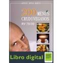 200 Menus Crudiveganos Rv 7030 Antonio O