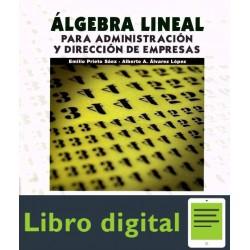Algebra Lineal Para Administracion Y Direccion