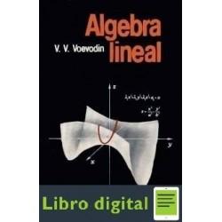 Algebra Lineal V. V. Voevodin