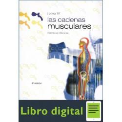 Las Cadenas Musculares, Tomo Iv Miembros
